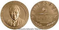 mandela medallion for sale  Shipping to South Africa