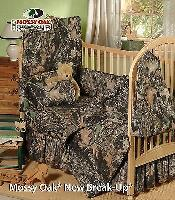 Mossy Oak Camouflage Baby Crib Sheet & Headboard Pad, Toddler Bedding for sale  Shipping to South Africa